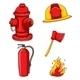 Fireman Equipment - GraphicRiver Item for Sale