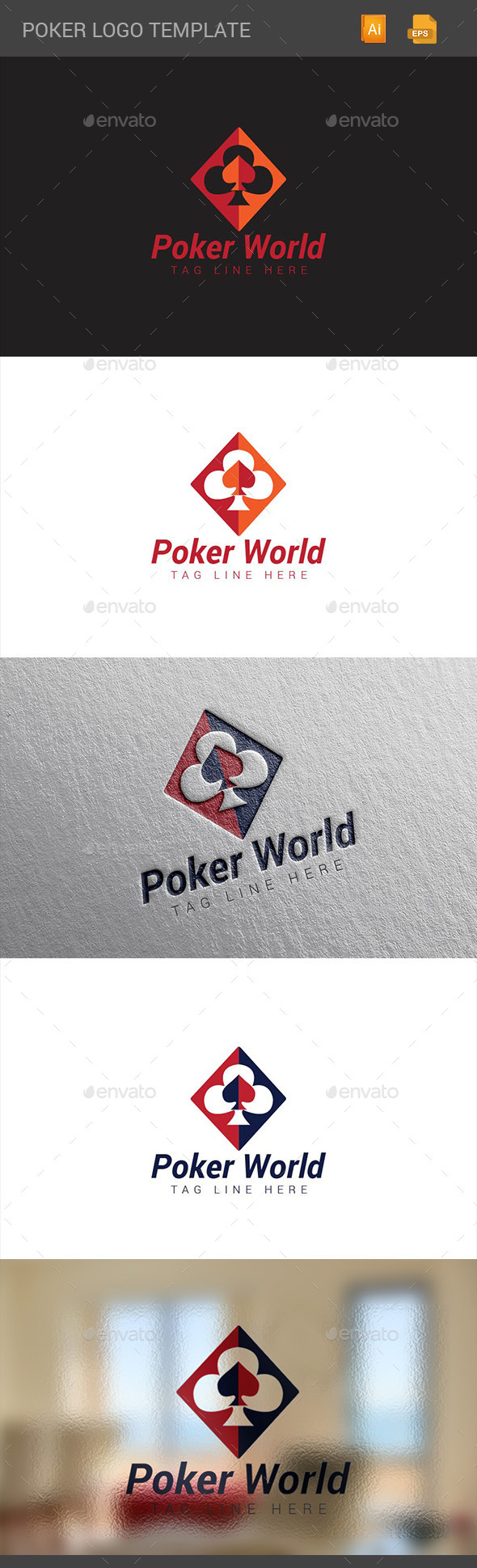 GraphicRiver Poker logo 10915994