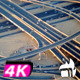 Cars Roundabout From Above Aerial - VideoHive Item for Sale