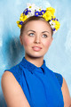woman with  floral hair-style - PhotoDune Item for Sale