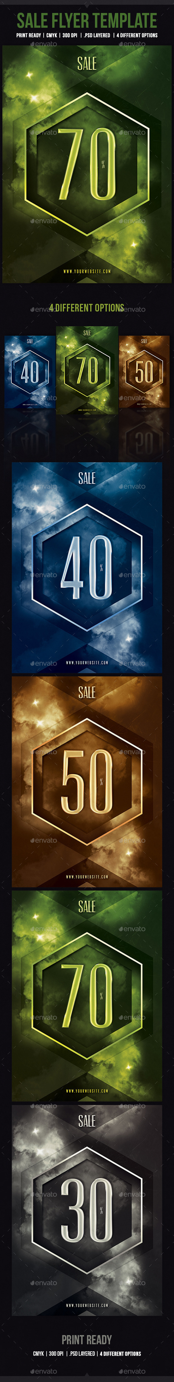 GraphicRiver Sale Flyer Template 10916314
