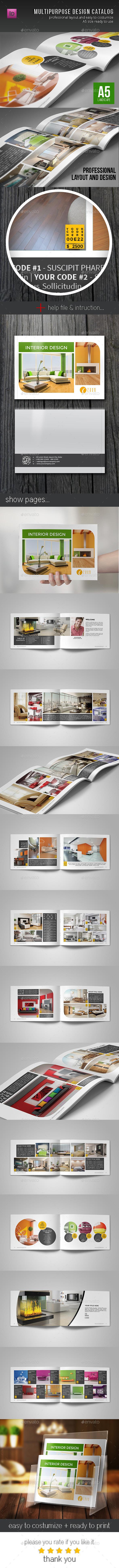 GraphicRiver Brochure Catalog Template 10856112