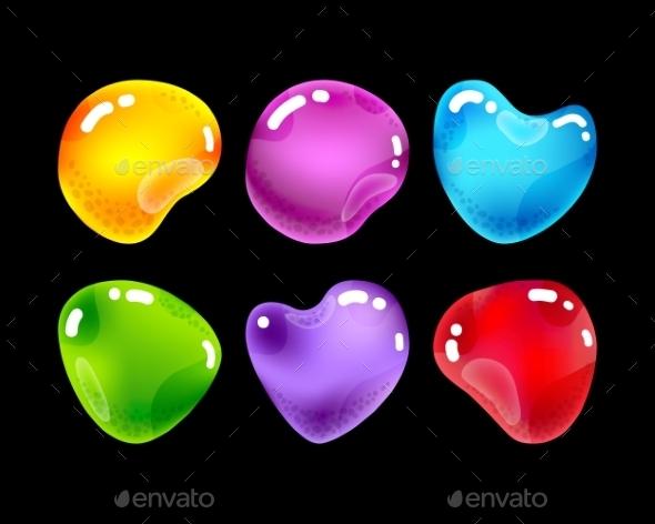 GraphicRiver Jewel Stones 10916688