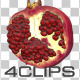 Half Of Pomegranate - VideoHive Item for Sale