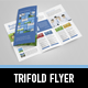 Metro Trifold Flyer - GraphicRiver Item for Sale