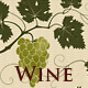 Wine; Red & Green Grapevines - GraphicRiver Item for Sale