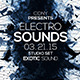 Minimal Sound Party Flyer - GraphicRiver Item for Sale