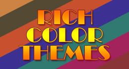 Rich Color Themes