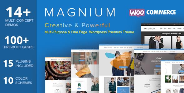 Magnium - Multi-Purpose WooCommerce Theme - WooCommerce eCommerce