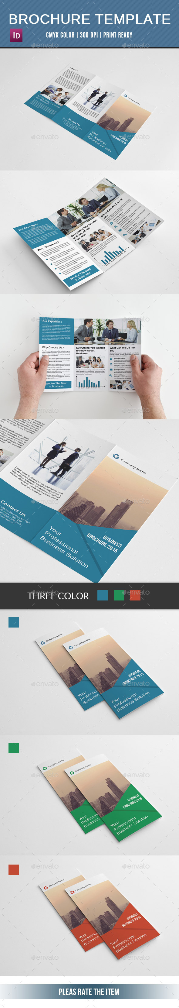 GraphicRiver Corporate Trifold Brochure-V128 10917197