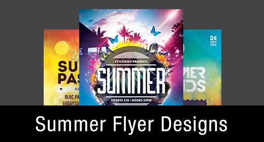 * Summer Flyer Templates