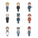 Profession People Avatars - GraphicRiver Item for Sale