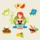 Healthy Diet - GraphicRiver Item for Sale