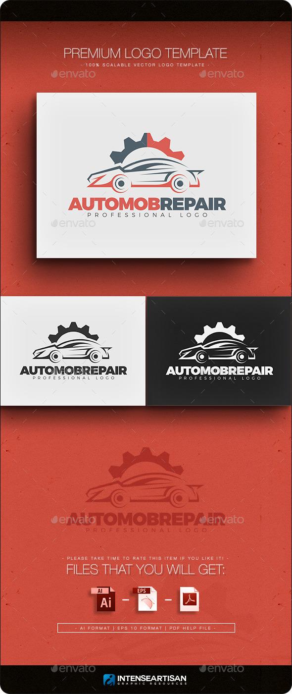 GraphicRiver Automobile Repair Logo Template 10917527