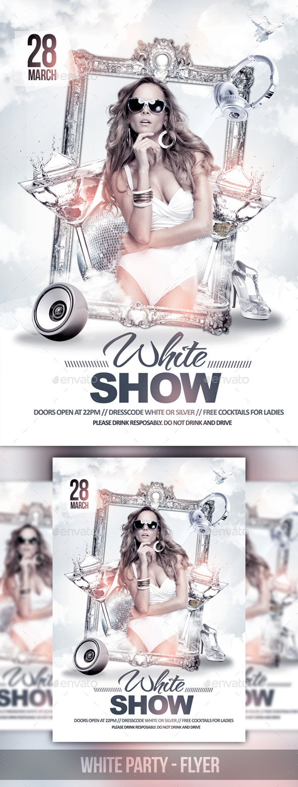 GraphicRiver The White Party 10821893