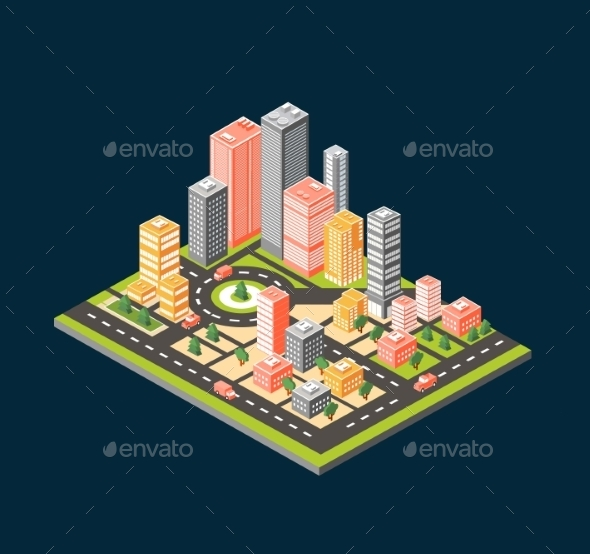 GraphicRiver City 10917629