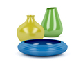 Colorful vases and bowl - PhotoDune Item for Sale