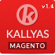 Kallyas - Fluid Responsive Magento Theme - ThemeForest Item for Sale