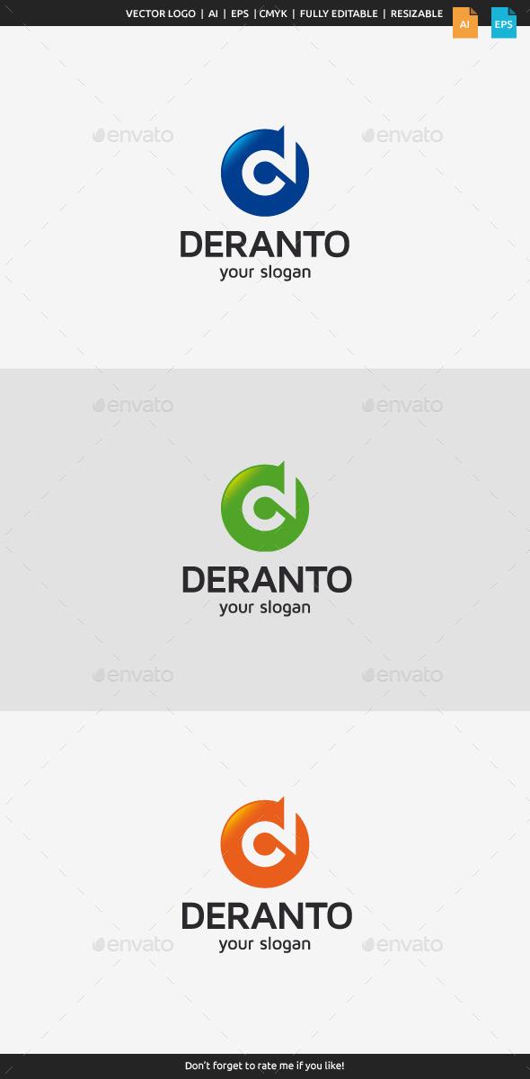 GraphicRiver Deranto Letter D 10917674