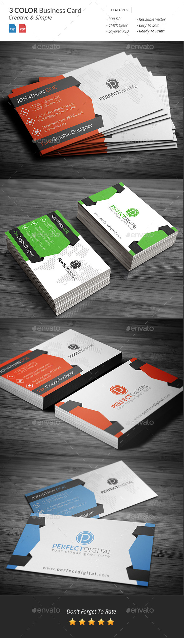 GraphicRiver Sompo Creative Bussiness Card Template v3 10918155
