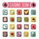 Vector Casino Flat Icons, Slot Machine - GraphicRiver Item for Sale