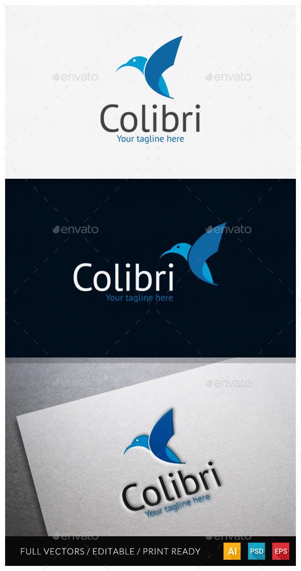 GraphicRiver Colibri Logo Template 10918687