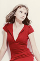 Beautiful young woman in a red dress - PhotoDune Item for Sale