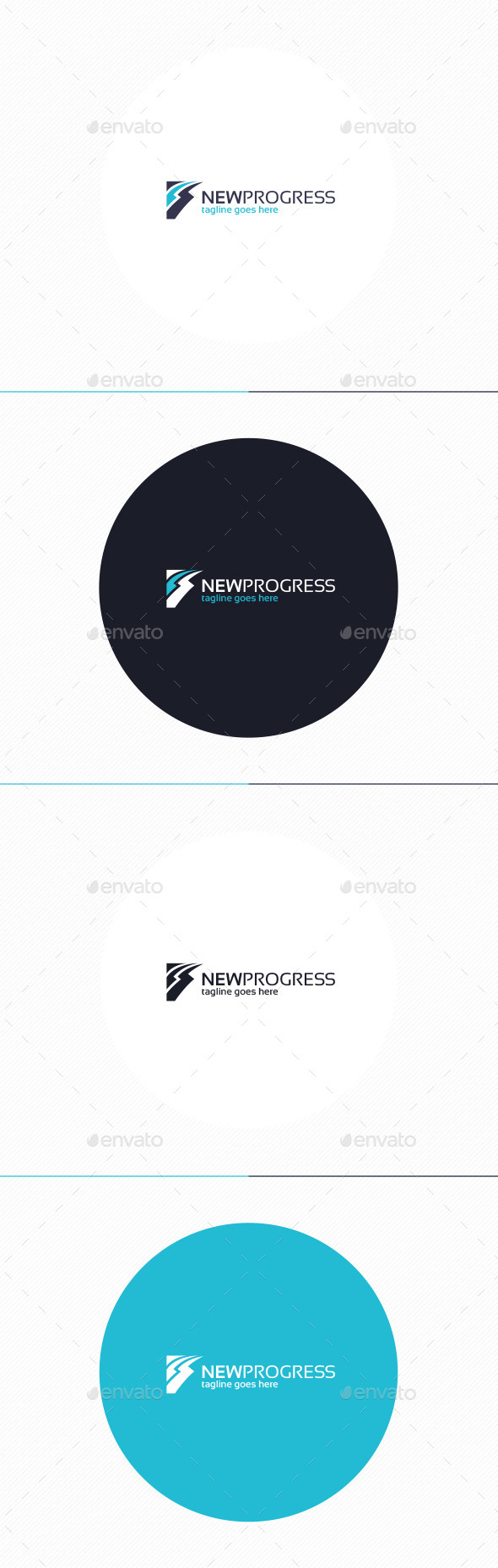 GraphicRiver New Progress Logo 10919309