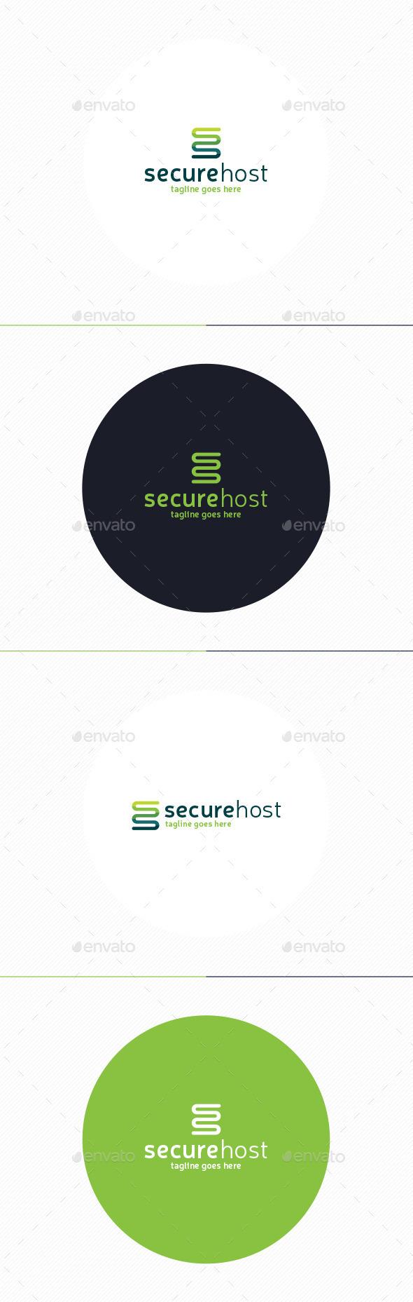 GraphicRiver Secure Host Logo 10919385