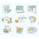Vector Collection Flat Business and Finance Icons - GraphicRiver Item for Sale