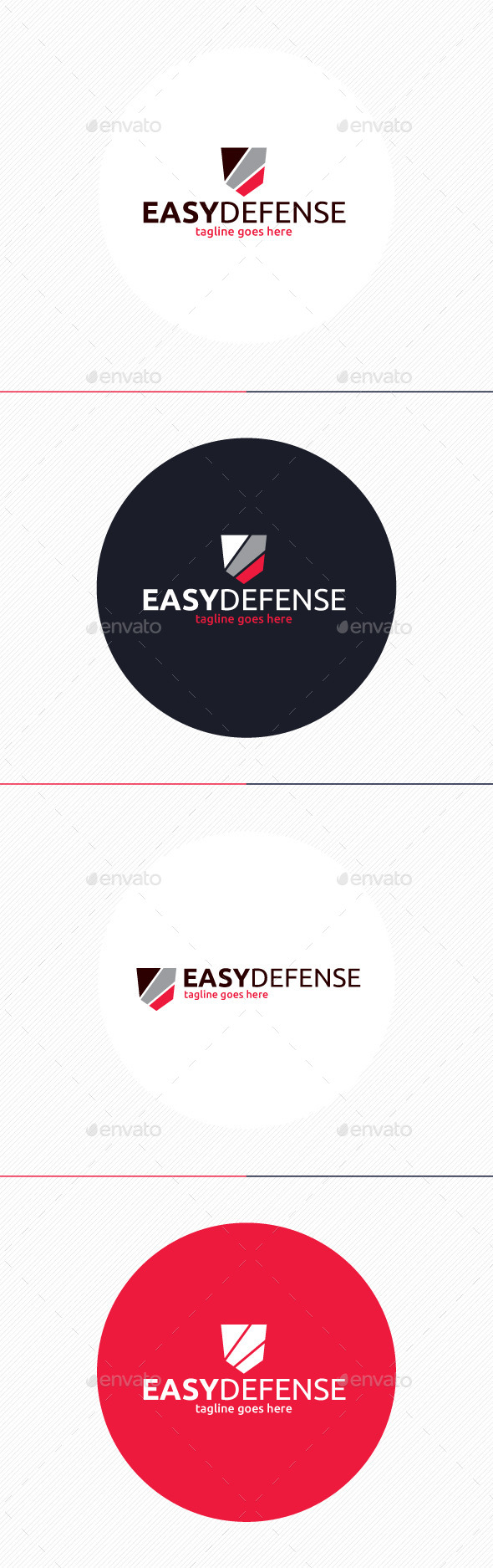 GraphicRiver Easy Defense Logo 10919796
