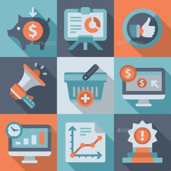 GraphicRiver Achieving the Goal Marketing Business 10919811