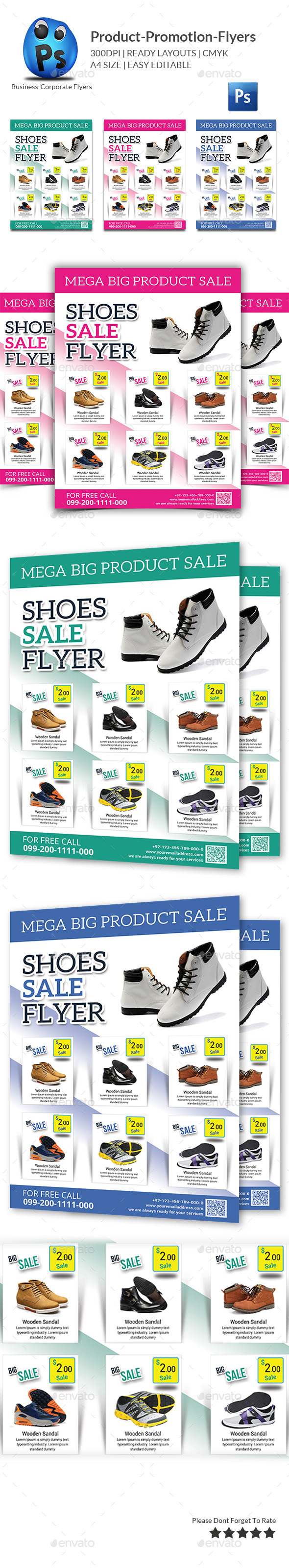 GraphicRiver Product Promotion Flyer Print Templates 10919968