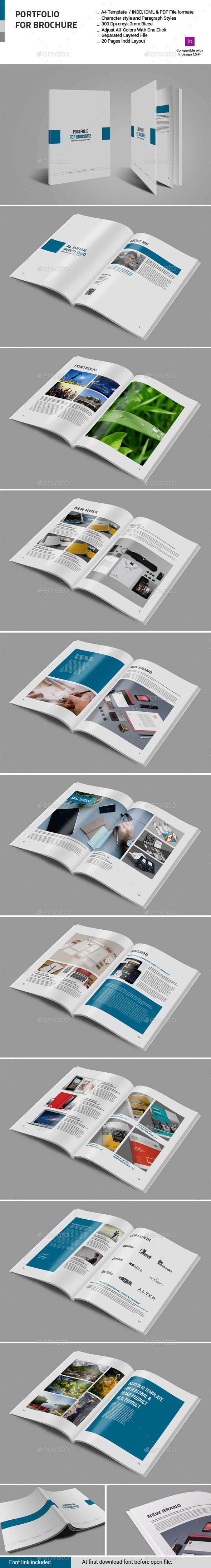 GraphicRiver Portfolio For Brochure 10920001