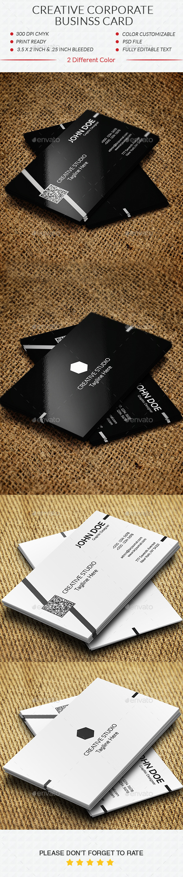 GraphicRiver Creative Corporate Business Card 10920005