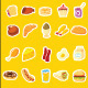 20 Food Flat Icon - GraphicRiver Item for Sale