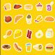 20 Food Flat Icon
