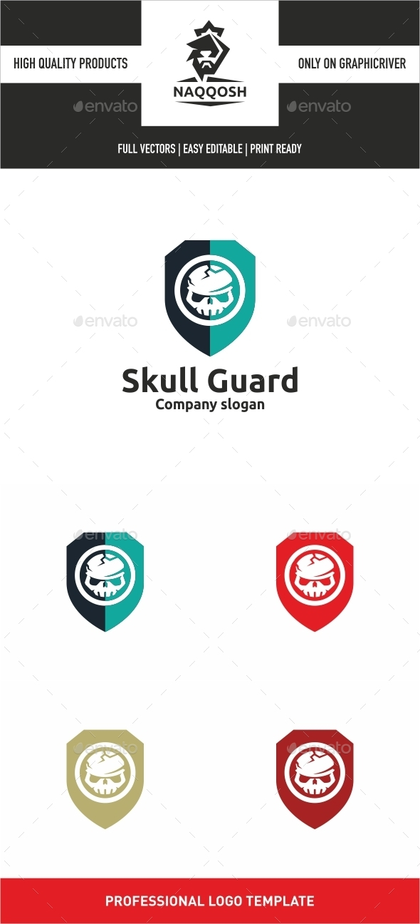 GraphicRiver Skull Guard 10920382