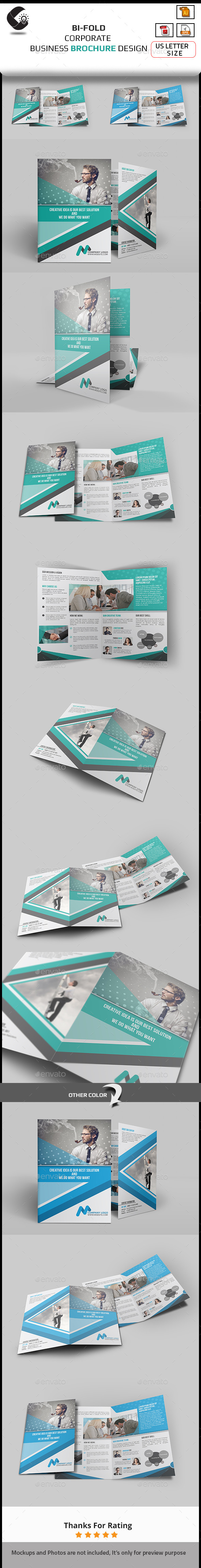 GraphicRiver Bi-fold Brochure Business Template 10692725