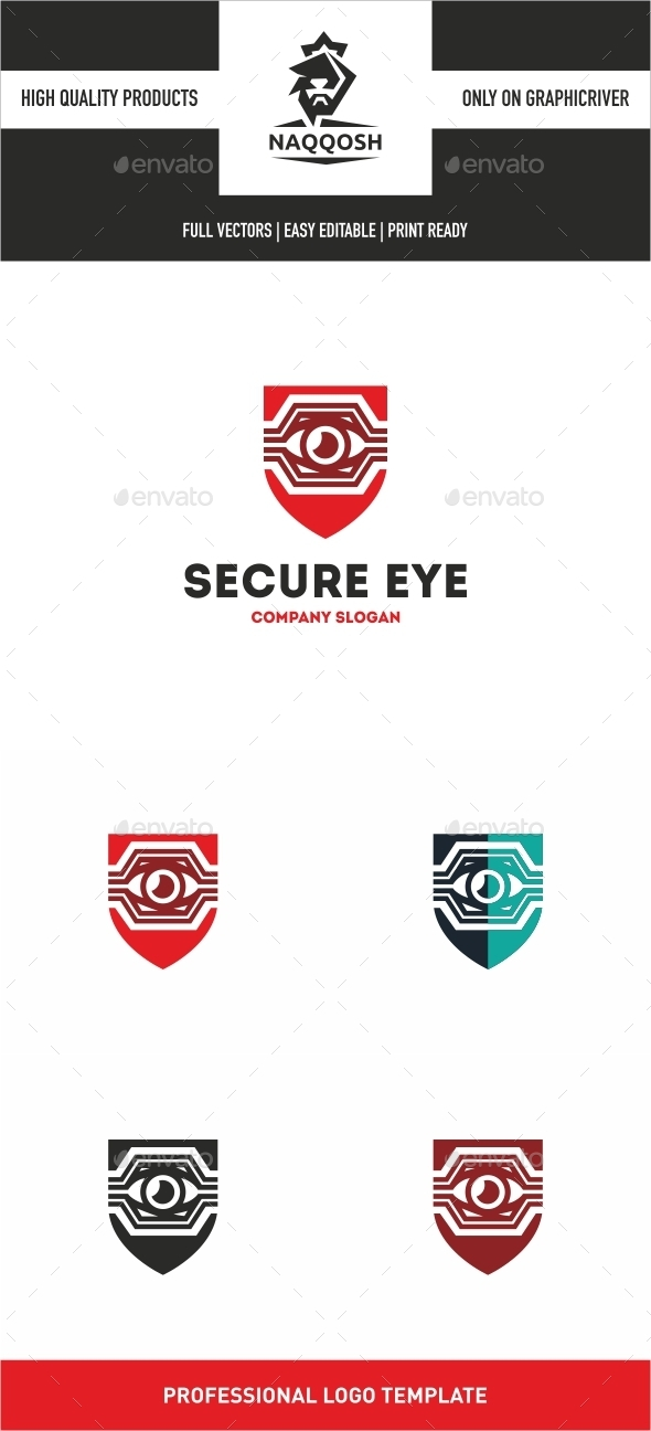 GraphicRiver Secure Eye 10920798