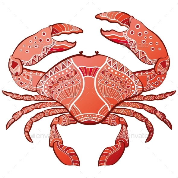 GraphicRiver Decorative Crab 10920959