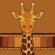 Decorative Giraffe Head - GraphicRiver Item for Sale