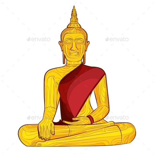 GraphicRiver Decorative Buddha Statue 10921320