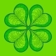 Decorative Lucky Clover Leaf - GraphicRiver Item for Sale