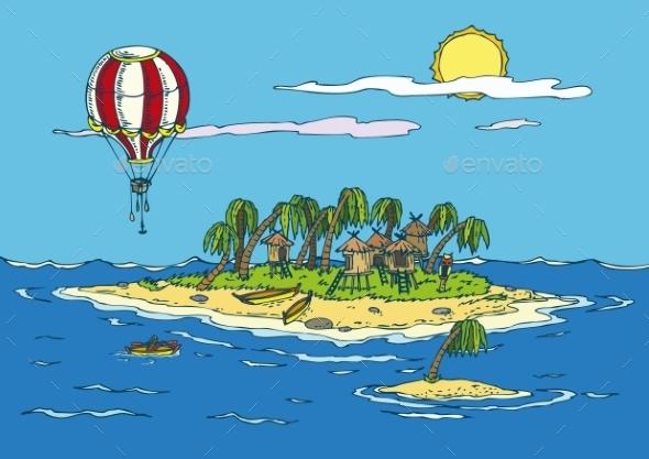 GraphicRiver Tropical Paradise 10921440