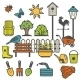 Rural Gardening Concept - GraphicRiver Item for Sale