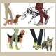 Dog with Owners  - GraphicRiver Item for Sale
