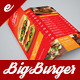 Big Burger Trifold Menu - GraphicRiver Item for Sale