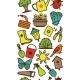 Garden Tool Border  - GraphicRiver Item for Sale