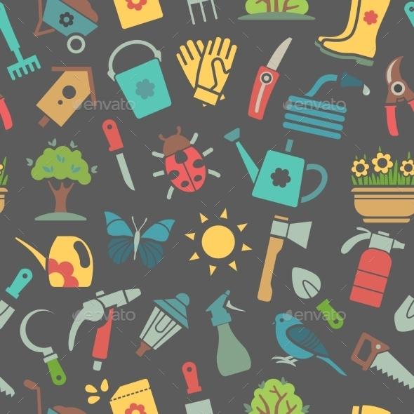 GraphicRiver Garden Background 10922374